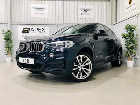 BMW X6 X6 xDrive40d M Sport 3.0 5dr Coupe Automatic Diesel
