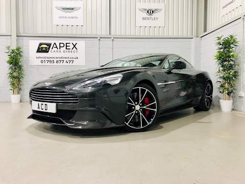 Aston Martin Vanquish 5.9 V12 Coupe 2dr Petrol Automatic (335 g/km, 565 bhp) Coupe 5.9 Automatic Petrol