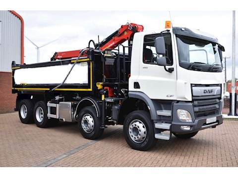 Daf Trucks CF 450 8X4 32T TIPPER/GRAB 450 Fad Construction Tipper 12.9 Manual Diesel