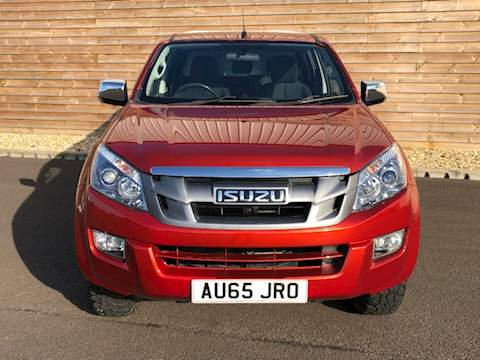 Isuzu D-Max EIGER D/CAB PICK UP ONLY 18000 MILES Td Eiger Dcb Pick-Up 2.5 Manual Diesel