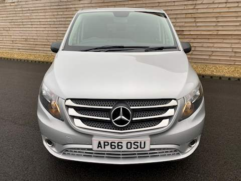 Mercedes-Benz Vito 116 BLUETEC SPORT LONG DUALINER 116 Bluetec Sport Van With Side Windows 2.1 AUTOMATIC Diesel