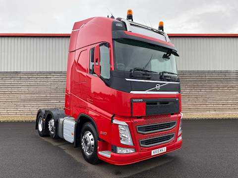Volvo FH FH540 6X2T PA XHSL Tractor Unit 12.8 Manual Diesel