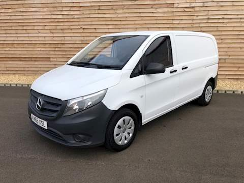 Mercedes-Benz Vito 116 COMPACT 160 BHP VITO 116 BLUETEC Panel Van 2.1 Manual Diesel