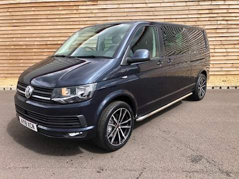 Volkswagen Transporter T32 HIGHLINE KOMBI 150 DSG 6 SEATS TRANSPORTER T32 H-LN TDIB Van With Side Windows 2.0 Semi Auto Diesel