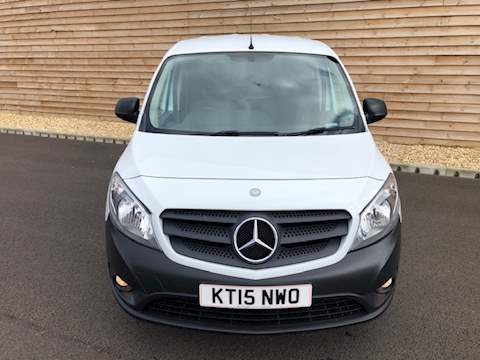 Mercedes-Benz Citan 109 CDI LONG WITH TWIN SIDE DOORS CITAN 109 CDI Panel Van 1.5 Manual Diesel