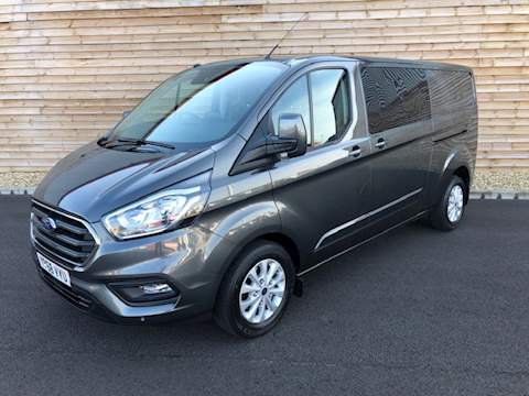 Ford Transit Custom 320 LIMITED 170PS AUTO 6 SEATS TRANSIT CUSTOM 320 LIMITE Panel Van 2.0 Automatic Diesel