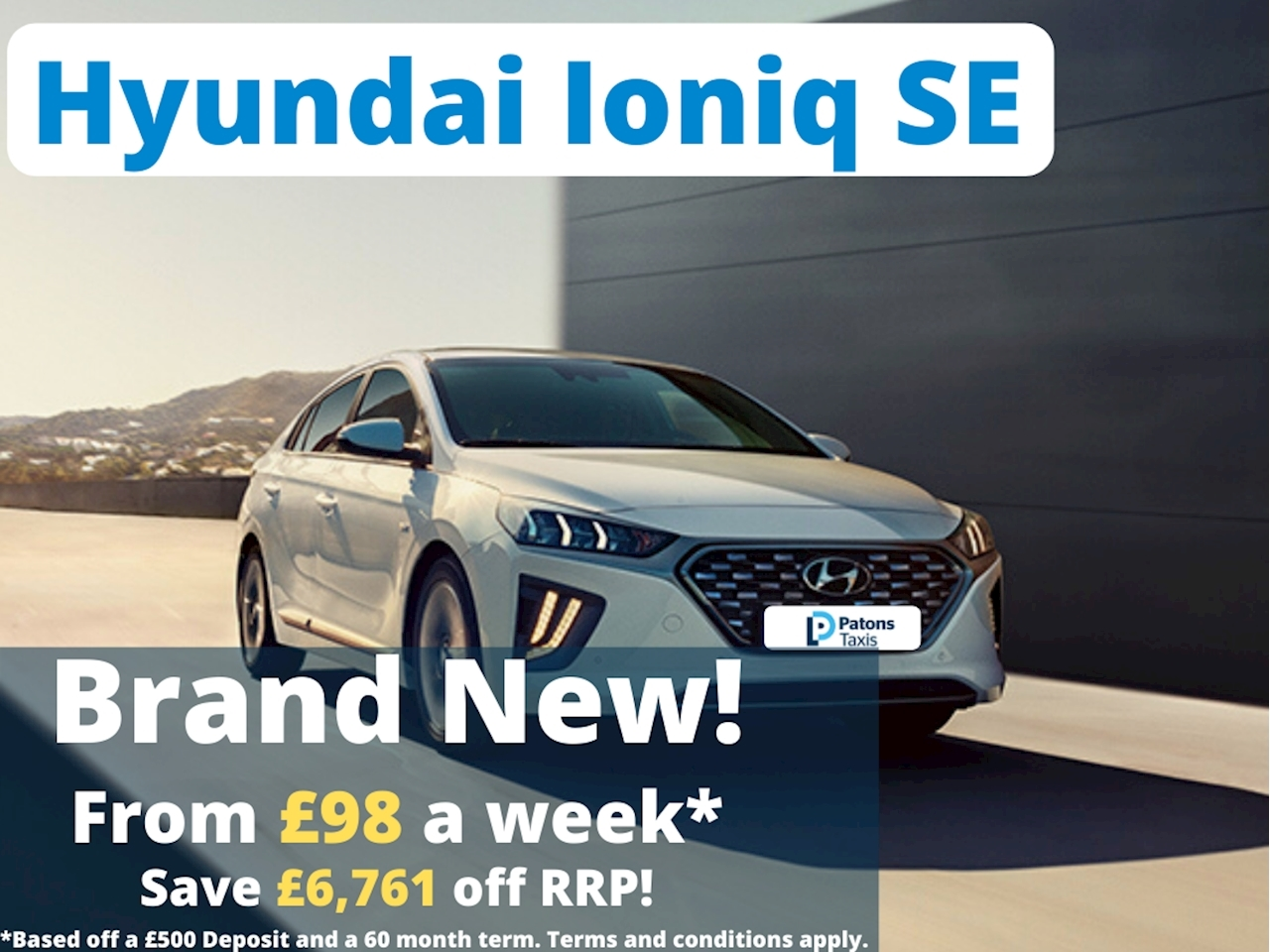 Ioniq Se Hatchback 1.6 Semi Auto Petrol/Electric