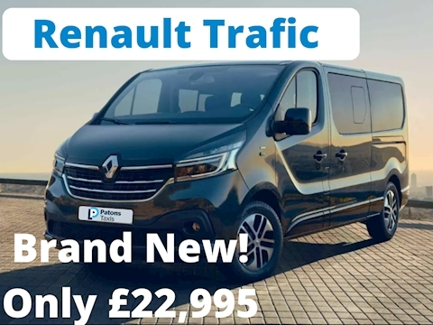 Renault Trafic Ll29 Business Dci Mpv 1.6 Manual Diesel