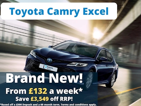 Toyota Camry Excel 2.5 5dr Saloon Semi-Auto Petrol/ Electric