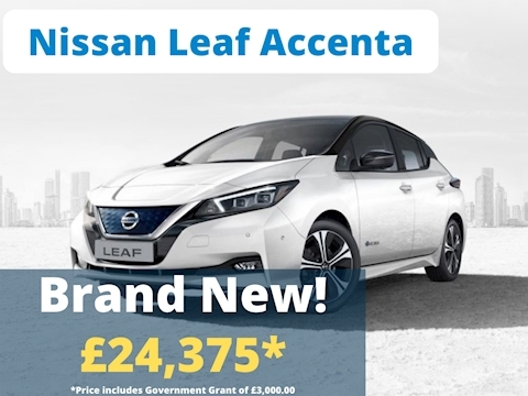 Nissan Leaf Acenta Hatchback 40 Automatic Electric