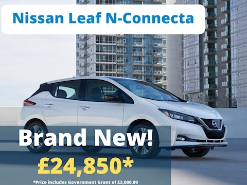 Nissan Leaf N-Connecta Hatchback 40 Automatic Electric