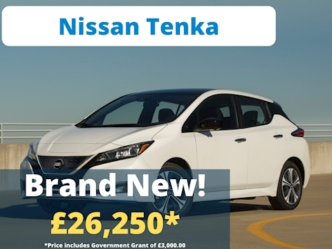 Nissan Leaf Tekna Hatchback 40 Automatic Electric