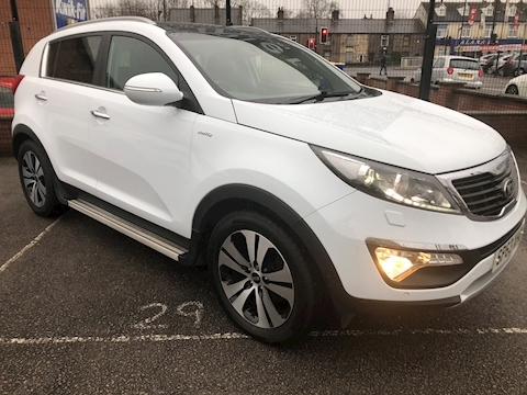 Kia Sportage Crdi 3 Sat Nav Estate 1.7 Manual Diesel
