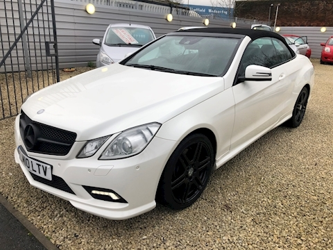 Mercedes-Benz E Class E350 Cdi Blueefficiency Sport Convertible 3.0 Automatic Diesel