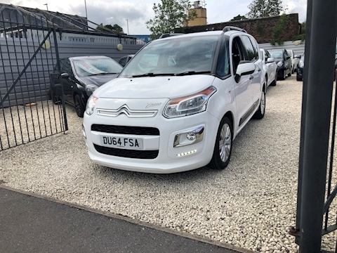 Citroen C3 Hdi Exclusive Picasso Mpv 1.6 Manual Diesel