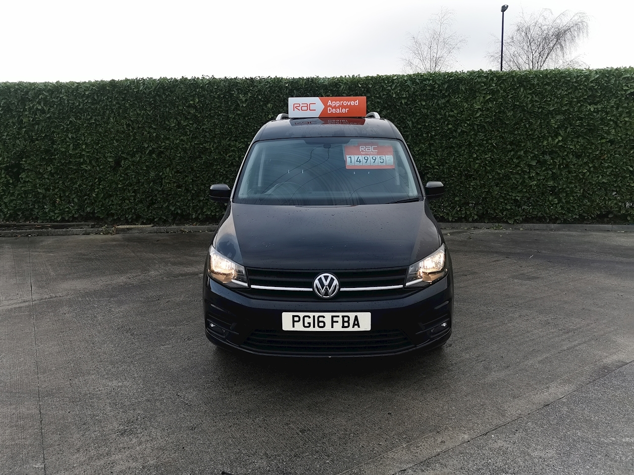 Volkswagen Caddy Highline Panel Van 2.0 DSG Diesel