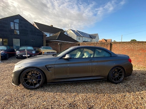M4 Series M4 Convertible Competition Package 3.0 2dr Convertible Automatic Petrol