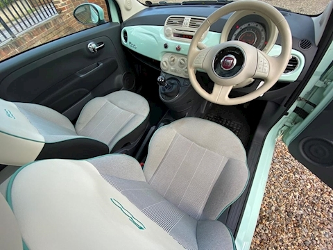 Fiat 500 500 1.2 69hp Lounge Hatchback 1.2 Manual Petrol