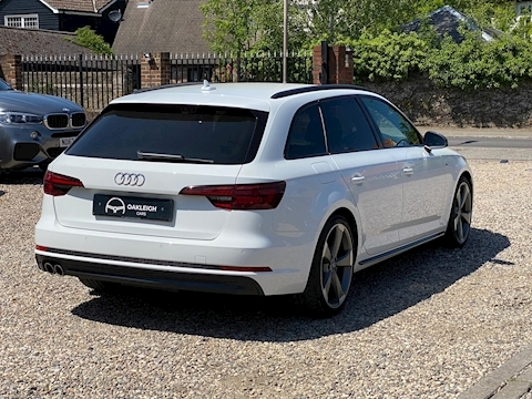 A4 Avant Tdi S Line Black Edition Estate 2.0 Semi Auto Diesel
