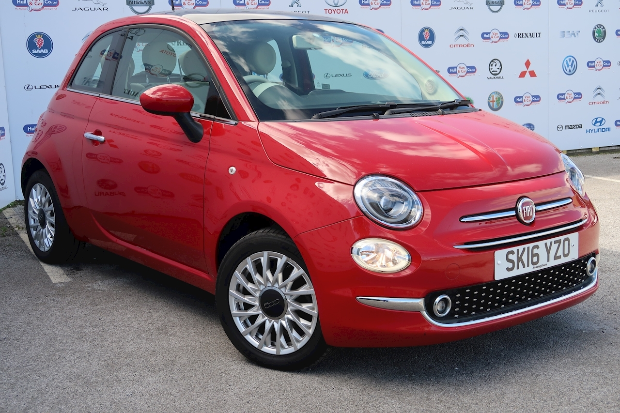 Fiat 500 500 My17 1.2 69hp Lounge 1.2 3dr Hatchback Manual Petrol