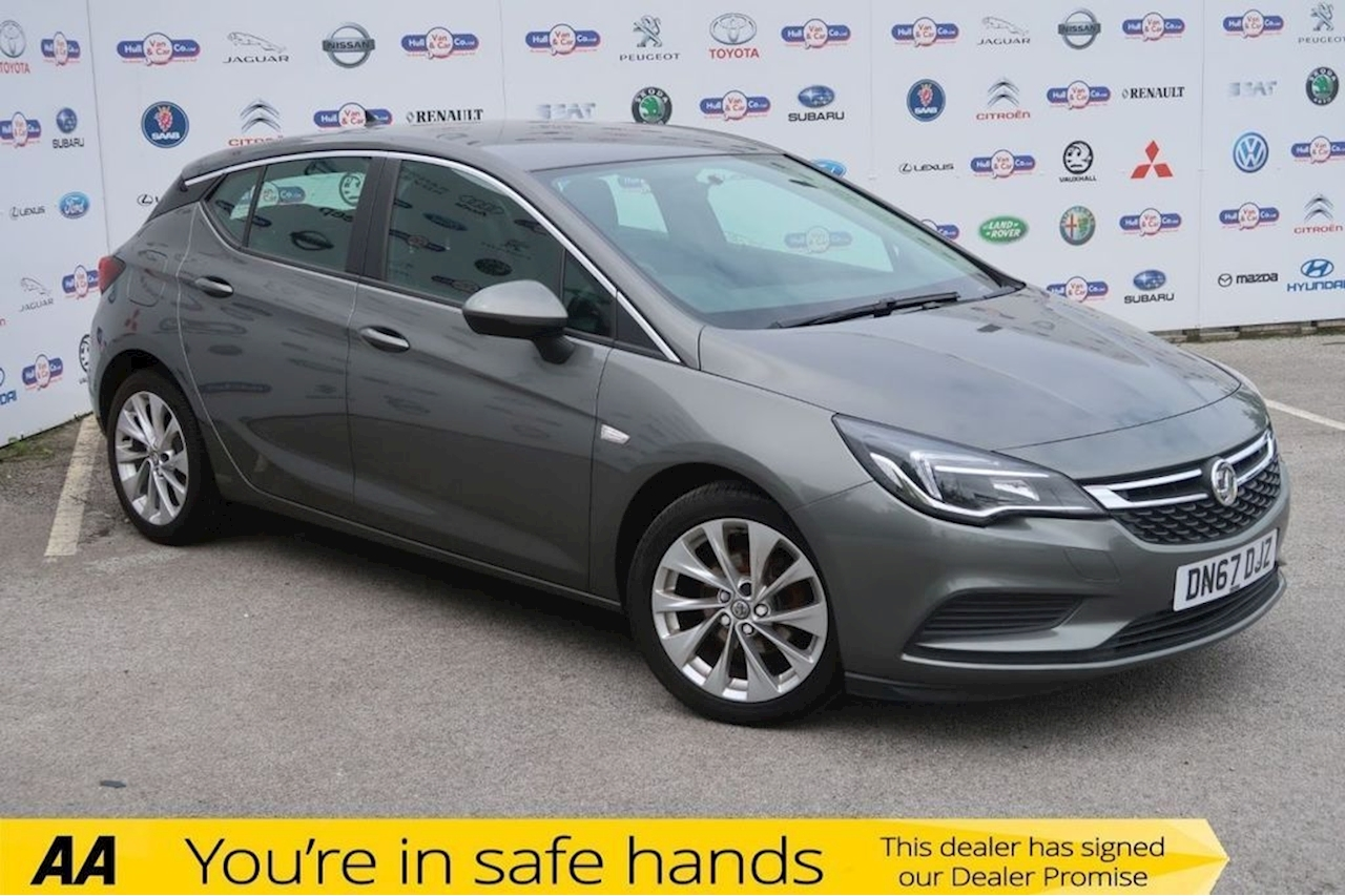 Vauxhall Astra Tech Line Cdti Hatchback 1.6 Manual Diesel
