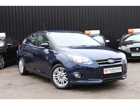 Ford Focus Titanium Tdci Hatchback 1.6 Manual Diesel