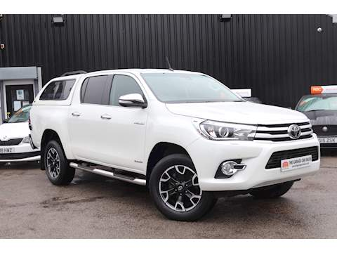 Toyota Hilux Invincible X 4Wd D-4D Dcb Light 4X4 Utility 2.4 Automatic Diesel