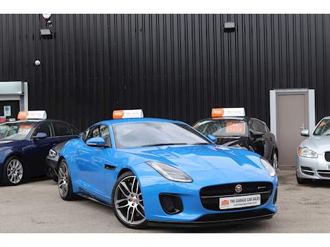 Jaguar F-Type R-Dynamic Coupe 3.0 Auto Petrol