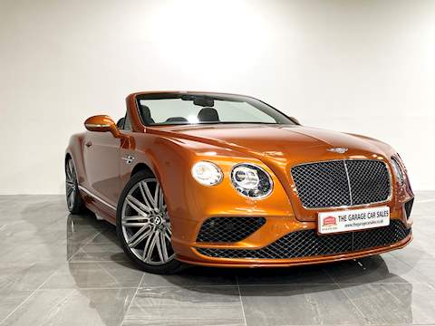 Bentley Continental GTC Speed Convertible 6.0 Auto Petrol