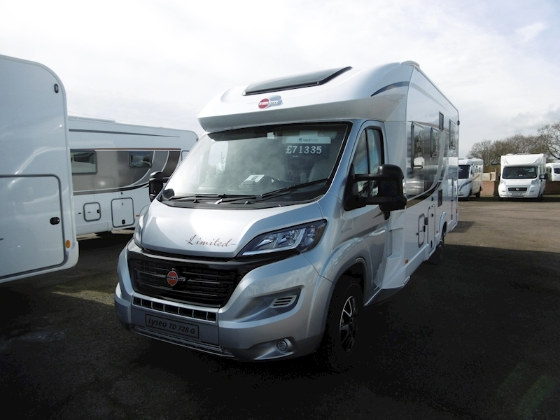 Lyseo TD Limited IT 728 2.3 Motorhome Automatic Diesel