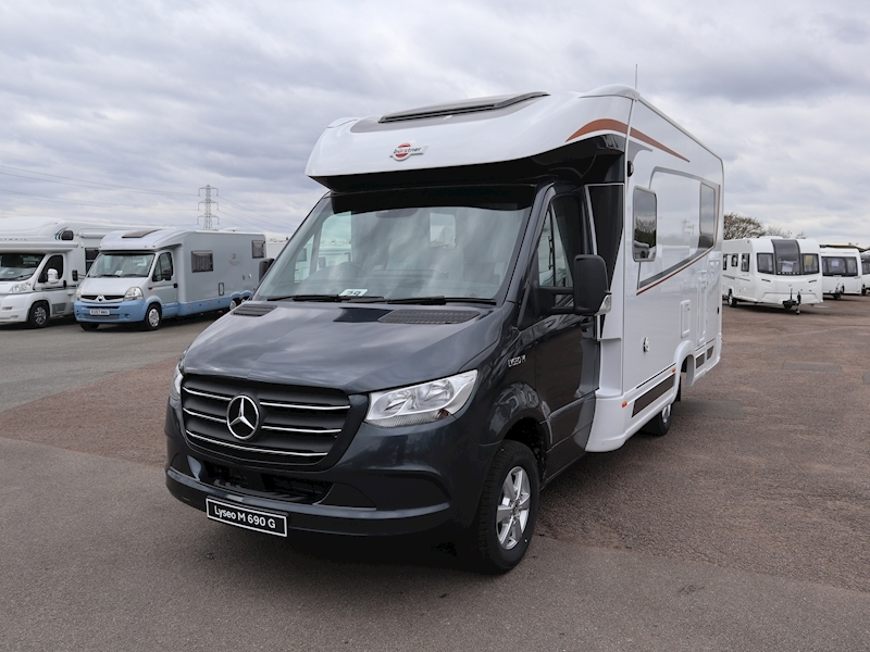 Lyseo M Harmony Mercedes 690G 163 Motorhome Automatic Diesel