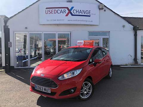 Ford Fiesta Zetec Tdci Hatchback 1.5 Manual Diesel