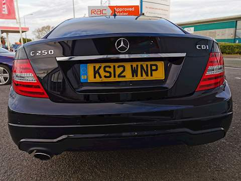 Mercedes-Benz C Class C250 Cdi Blueefficiency Amg Sport Coupe 2.1 Automatic Diesel