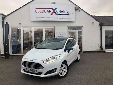 Ford Fiesta Zetec White Edition Spring Hatchback 1.2 Manual Petrol