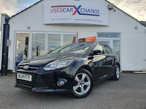 Ford Focus Zetec Navigator Tdci Hatchback 1.6 Manual Diesel