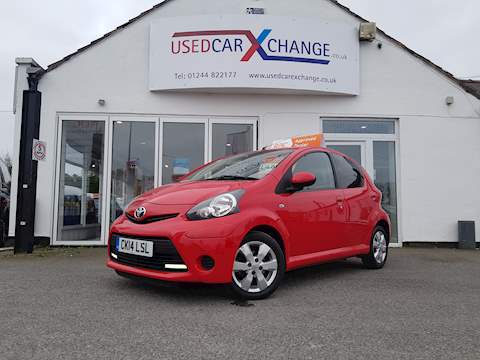 Toyota Aygo Vvt-I Move With Style Hatchback 1.0 Manual Petrol