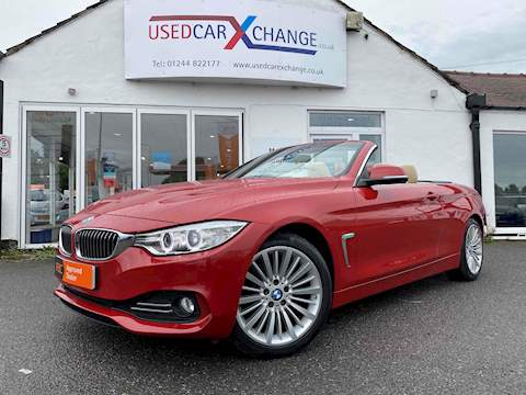 BMW 4 Series 430i Luxury Convertible Convertible 2.0 Automatic Petrol
