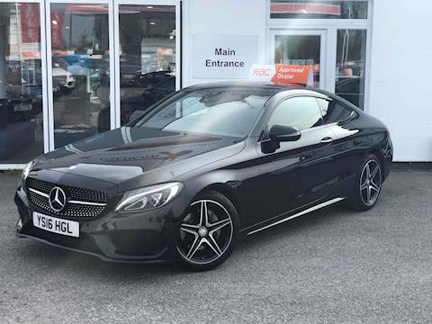 Mercedes-Benz C Class C 220 D Amg Line Premium Plus Coupe 2.1 Automatic Diesel