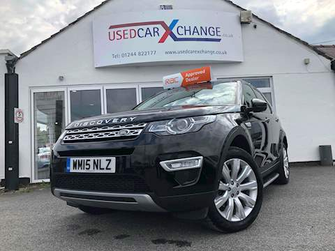Land Rover Discovery Sport Sd4 Hse Luxury Estate 2.2 Automatic Diesel
