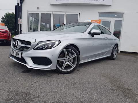 Mercedes-Benz C Class C 200 Amg Line Coupe 2.0 Manual Petrol