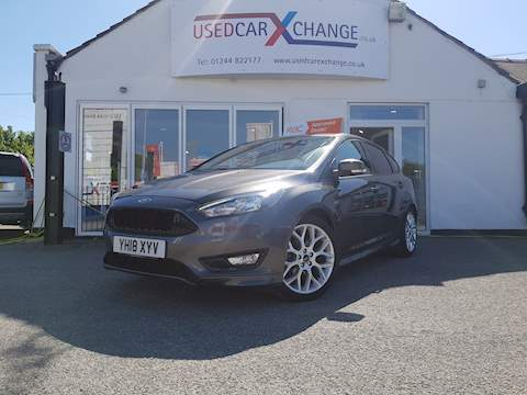 Ford Focus St-Line Hatchback 1.0 Manual Petrol
