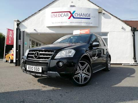 Mercedes M-Class Ml63 Amg 4Matic Estate 6.2 Automatic Petrol