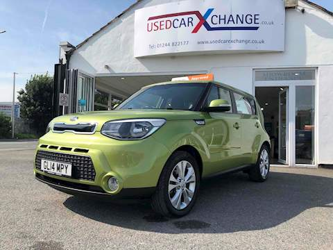 Kia Soul Crdi Connect Plus Hatchback 1.6 Manual Diesel