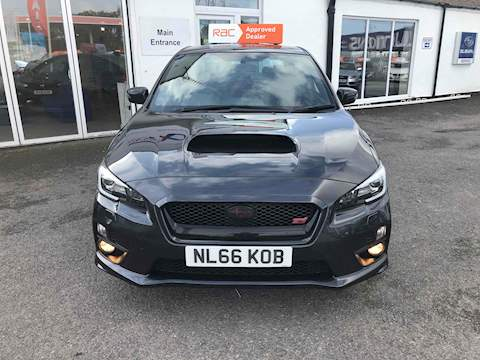 Subaru Wrx Sti Type Uk Saloon 2.5 Manual Petrol