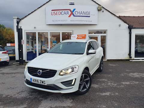 Volvo Xc60 D5 R-Design Lux Nav Awd 2.4 5dr Estate Automatic Diesel