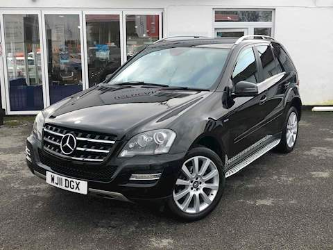 Mercedes-Benz M-Class Ml350 Cdi Blueefficiency Grand Edition Estate 3.0 Automatic Diesel