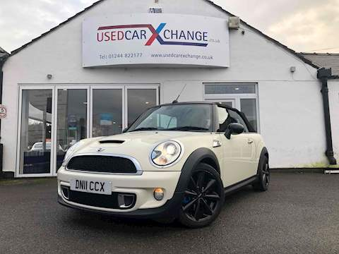 Mini Mini Cooper S Convertible 1598 2dr 2 door manual Petrol
