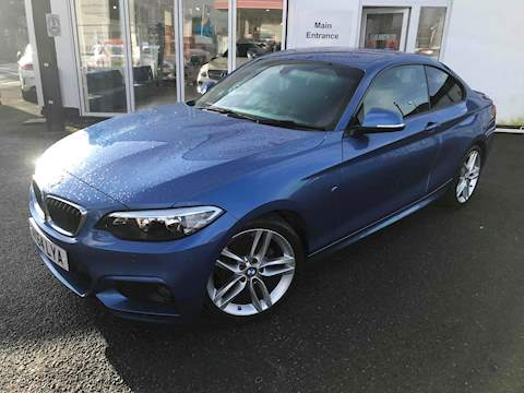 BMW 2 Series 218D M Sport Coupe 2.0 Manual Diesel