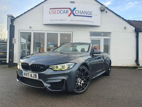 BMW 4 Series M4 Competition Convertible 3.0  Petrol