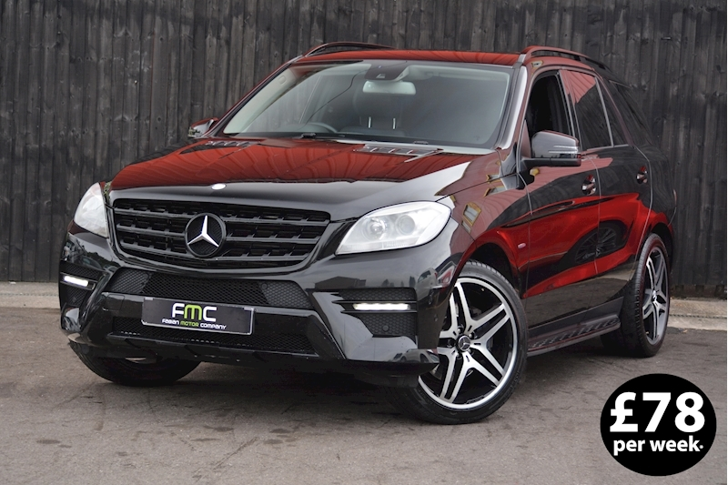 Mercedes-Benz Ml350 Sport BLUETEC Auto  4X4 3.0 Automatic Diesel